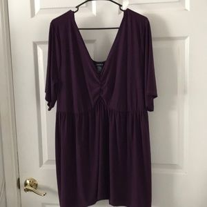 SALE Torrid Purple Shirt